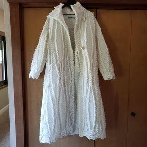 🚫SOLD🚫Issey Miyake Pleated Wool Hawk Eagle Coat